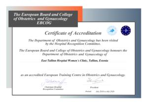 certificate-east-tallinn-central-hospital-2016
