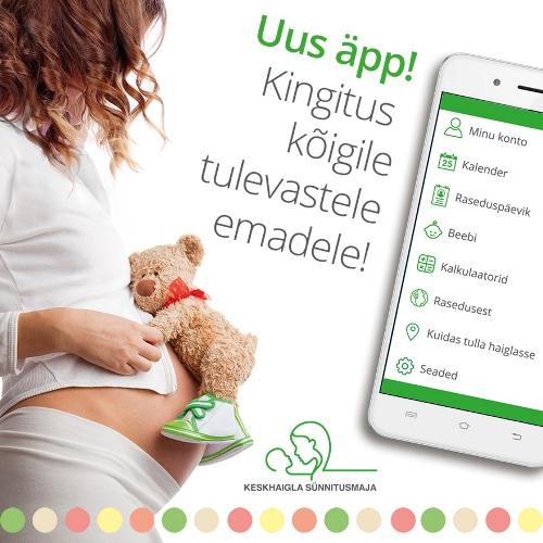 f82a7fb739e Raseduse äpp saadab sulle olulisi meeldetuletusi rasedusaegsete sündmuste  ja toimingute kohta.