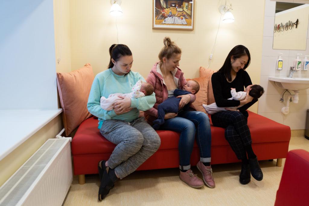 f67feb84caf Avasime naistekliinikus imetamistoa - Keskhaigla Sünnitusmaja